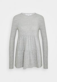 Forever New - PIPER TIERED SMOCK JUMPER - Long sleeved top - grey - 0