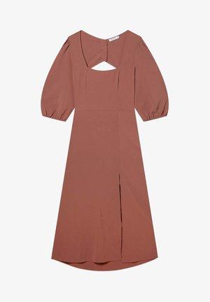Sukienka letnia - dark brown