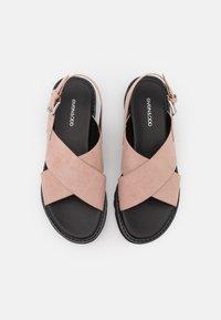 Even&Odd - Sandály na platformě - light pink - 5