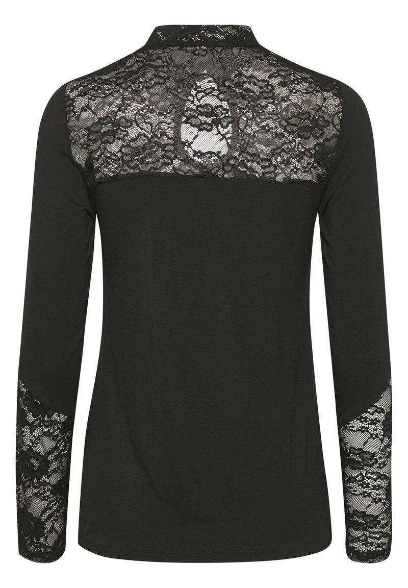 Culture CUGOMME - Bluse - black/schwarz dwfoZt