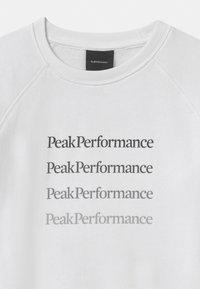Peak Performance - GROUND CREW UNISEX  - Mikina - white - 2