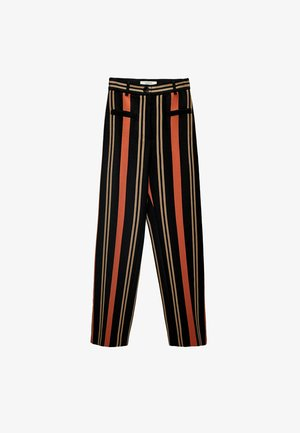 Trousers - black
