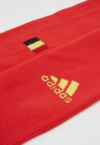 adidas Performance - BELGIUM RBFA HOME SOCKS - Sports socks - red - 2