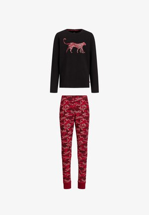 MET LUIPAARDPRINT - Pyjama set - red