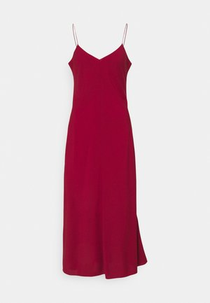 VALERIE LONG SLIP - Cocktail dress / Party dress - lipstick red