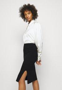 DESIGNERS REMIX - MANDY SLIT SKIRT - Pencil skirt - black - 3
