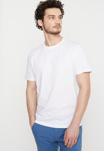 DOUBLE PACK CREW NECK TEE - T-shirt - bas - white