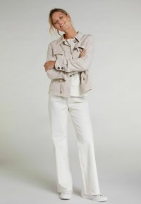 Oui - Summer jacket - light stone - 1