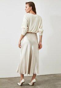 Trendyol - A-line skirt - silver - 2