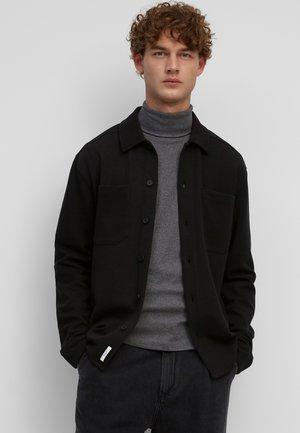 OVERSHIRT AUS BIO-MIX - Light jacket - black