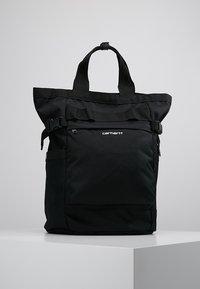 Carhartt WIP - PAYTON CARRIER BACKPACK UNISEX - Sac à dos - black/white - 0