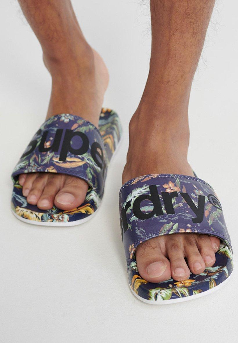 Men PRINTED  - Pool shoes