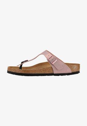 GIZEH - T-bar sandals - rosa