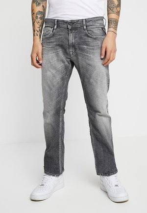 NEWBILL - Straight leg jeans - medium grey