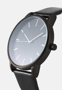 Zign - UHR CARD HOLDER /VISITENKARTENETUI GESCHENK SET /GIFT SET - Horloge - black - 7