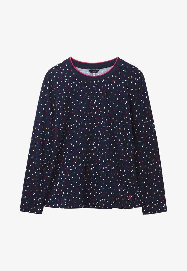LONG SLEEVE - Camiseta de manga larga - bunte tupfen