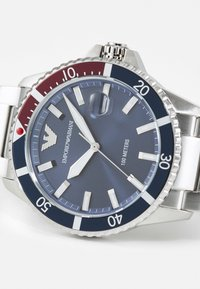 Emporio Armani - Watch - silver-coloured - 3