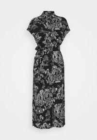 Monki - ARIANA DRESS - Skjortekjole - black - 4