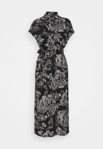 ARIANA DRESS - Skjortekjole - black
