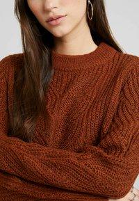 Object - Pullover - brown patina melange - 5