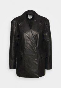 House of Dagmar - CHARLOTTE  - Leather jacket - black - 5