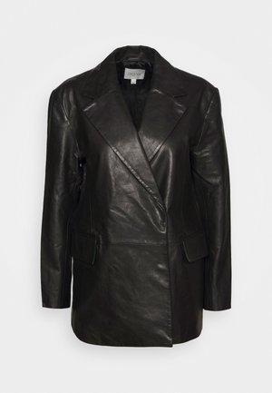 CHARLOTTE  - Giacca di pelle - black
