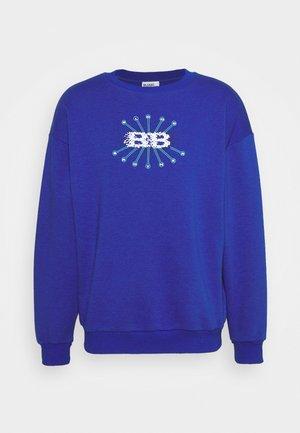 BUBBLE PRINT - Sportinis megztinis - blue