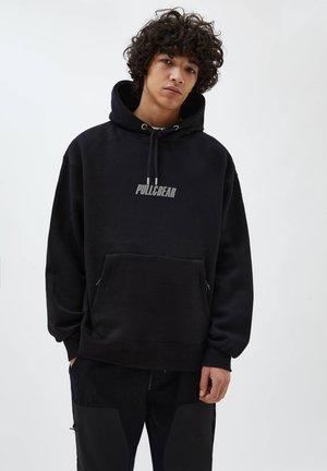 Hoodie - mottled black
