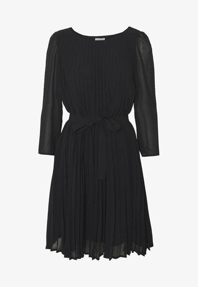 RIFIFIPLISSEEE - Vapaa-ajan mekko - noir