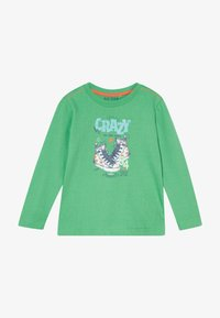 Blue Seven - KIDS SHOE PRINT CRAZY - Long sleeved top - apfel original - 2