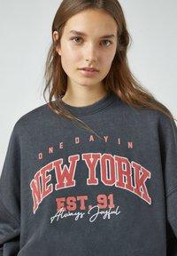 PULL&BEAR - Sweatshirts - dark grey - 3