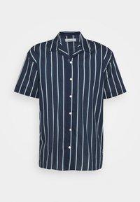 JJGREG STRIPE SHIRT - Shirt - navy blazer
