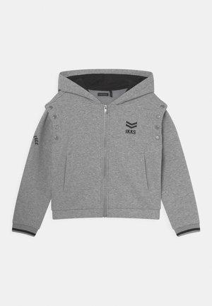 Zip-up sweatshirt - grix chiné foncé