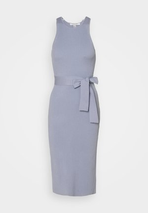 IVY RACE COLUMN MIDI DRESS - Shift dress - eggshell blue