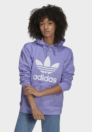 ADICOLOR TREFOIL ORIGINALS HODDIE - Hoodie - light purple