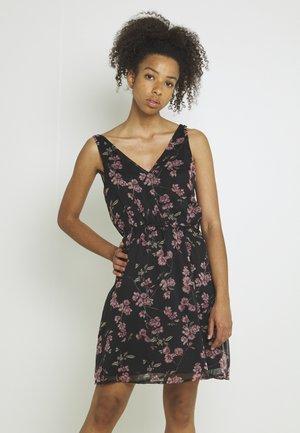 VMWONDA NEW SINGLET SHORT DRESS - Day dress - black/mallie