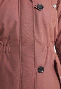 ONLY - ONLIRIS  - Zimní kabát - burlwood - 7