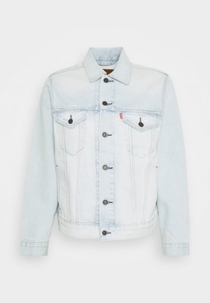 VINTAGE FIT TRUCKER UNISEX - Denim jacket - light indigo