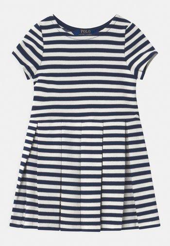 STRIPE  - Jersey dress - patriot blue