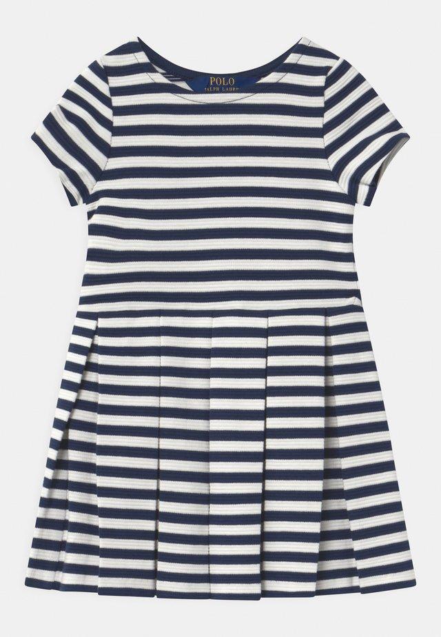 STRIPE  - Žerzejové šaty - patriot blue