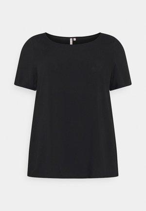 CARFIRSTLY LIFE - Print T-shirt - black