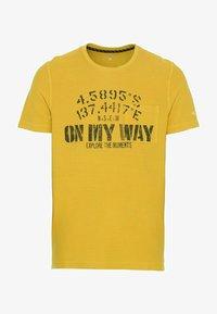camel active - Print T-shirt - gold - 5