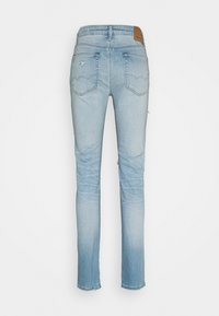 American Eagle - LIGHT DESTROY SLIM FIT - Jeans Tapered Fit - authentic light - 1