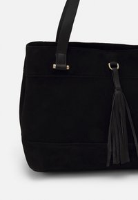 Anna Field - LEATHER - Tote bag - black - 3