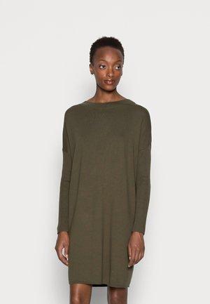 CORE DRESS - Jumper dress - dark khaki