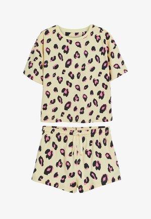 3 PACK LEOPARD - Pyjamas - pink