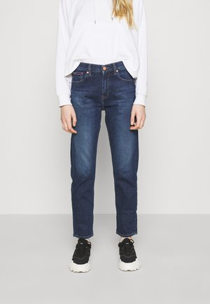 IZZY SLIM ANKLE - Slim fit jeans - hanna dark blue comfort