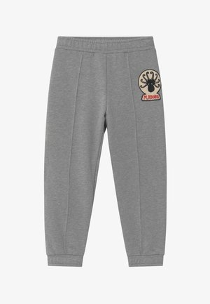 OCTOPUS PATCH - Trousers - grey melange