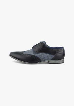 DERBY - Casual lace-ups - dunkelblau