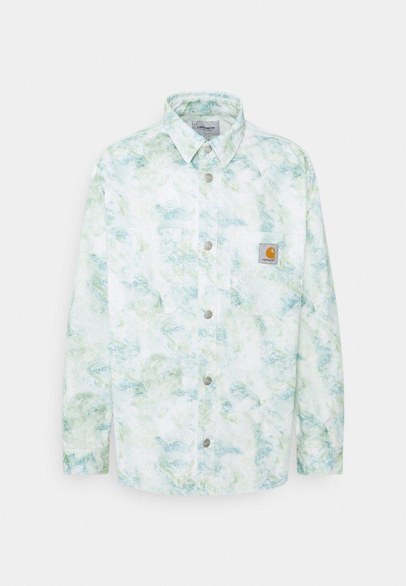 Carhartt WIP - MARBLE SHIRT - Camisa - wave